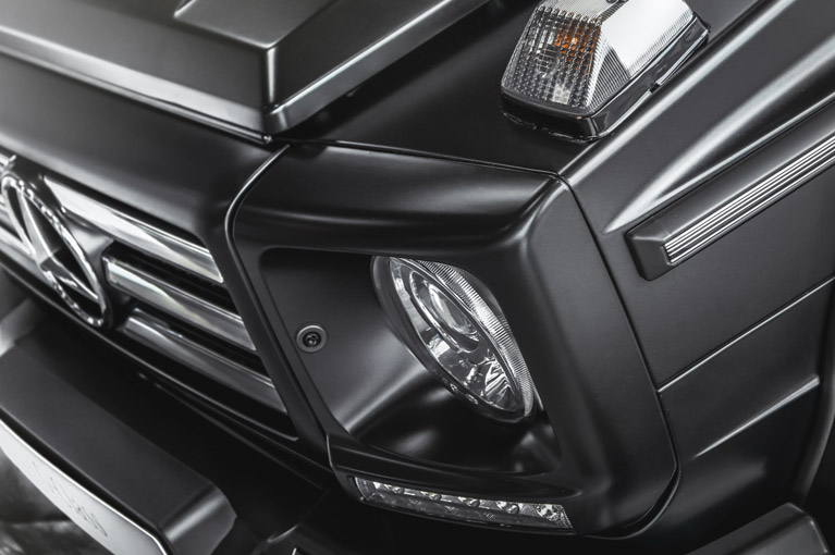 XPEL STEALTH Paint Protection Film for sleek satin Finish on Mercedes G-Class